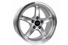 Silver 95 Cobra R Mustang Wheels