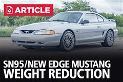 SN95/New Edge Mustang Weight Reduction