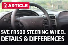 SVE FR500 Steering Wheel Details & Differences
