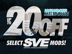 Up to 20% OFF SVE Parts!