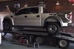 6.2L SVT Raptor Dyno - Roush Supercharger