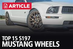 Top 15 S197 Mustang Wheels
