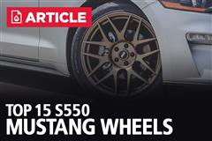 Top 15 S550 Mustang Wheels