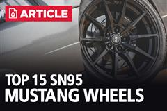 Top 15 SN95 Mustang Wheels