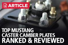Top Mustang Caster Camber Plates | Ranked & Reviewed