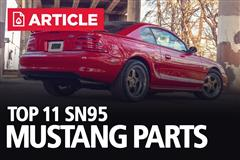 Top 11 Parts For Your 1994-1998 Mustang