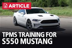 TPMS Training For S550 Mustang