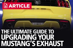 Upgrading Your Mustang's Exhaust
