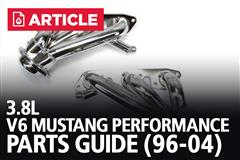 V6 Mustang Performance Parts Guide (1996-04 3.8L)
