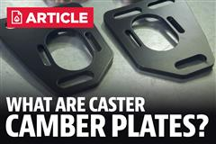 What Are Mustang Caster Camber Plates & What Do They Do?