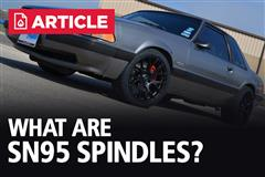 What Are SN-95 Spindles? | Fox Body 5 Lug Swap