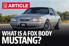 What Is A Fox Body Mustang?