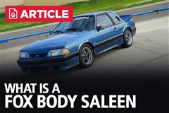 What Is A Fox Body Saleen?