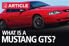 What Is A Mustang GTS? - Horsepower, Specs, & Colors