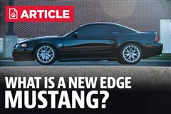 What Is An New Edge Mustang?