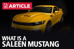 What Is A Saleen Mustang?