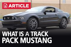 What Is A Track Pack Mustang?