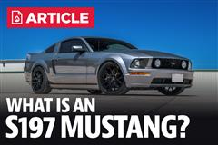 What Is An S197 Mustang?