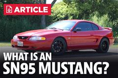 What Is An SN95 Mustang?