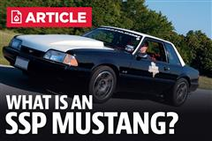 What Is An SSP Mustang?
