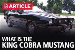 What Is The King Cobra Mustang?