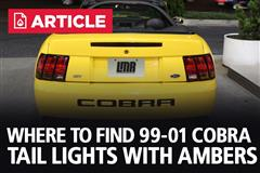 Where to find 99-01 Cobra Tail Lights (With Ambers)