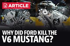 Why Did Ford Kill The V6 Mustang?