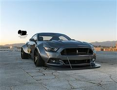 Wide Body 2015 Mustang Renderings – S550